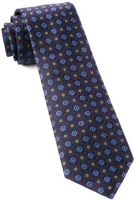 The Tie BarThe Tie Bar Eggplant Midtown Medallions Tie