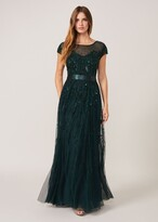 Thumbnail for your product : Phase Eight Renee Beaded Tulle Dress