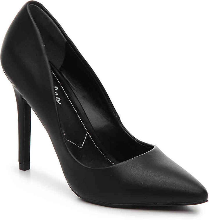 e8aade10bb Charles by Charles David Black Leather Pumps - ShopStyle