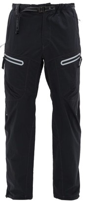 And Wander - Drawstring Technical Trousers - Mens - Black