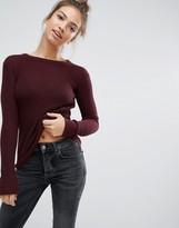 Pull&Bear Side Split Sweater