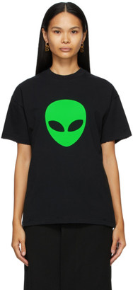 Balenciaga Black Alien Medium Fit T-Shirt