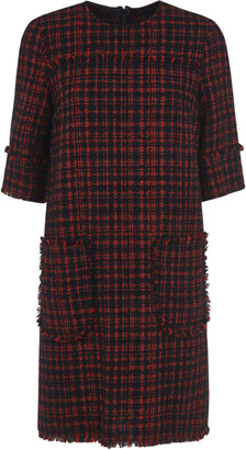 Dolce & Gabbana Side Patch Pocket Detail Back Zip Dress