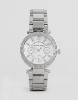 Michael Kors Silver Mini Parket Watch