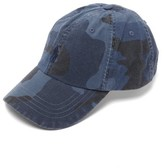 Polo Ralph Lauren - Camo Print Logo Embroidered Cotton Baseball Cap - Mens - Camouflage