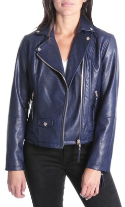 KUT from the Kloth Brooke Faux Leather Moto Jacket