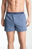 Calvin Klein 'Matrix' Slim Fit Woven Boxers (Online Only)