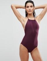 Asos Halter Swimsuit
