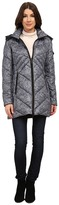 Rainforest Knit Printed Puffer