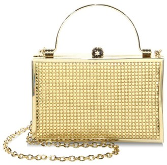 Whiting & Davis Bond Street Metal Mesh Clutch