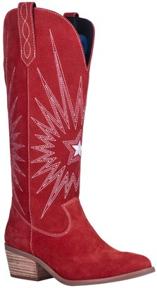 Dingo Star is Born Suede Western Knee High Boot