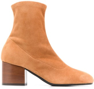 Marni Square Toe Ankle Boots