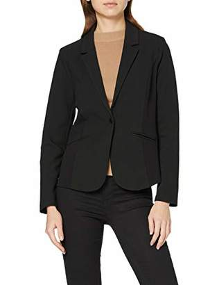 Street One Women's 2188 Suit Jacket, Black (Black 001), UK