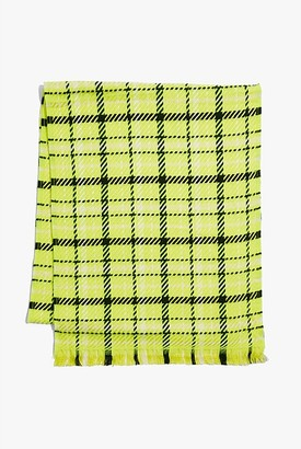 Country Road Textured Check Scarf
