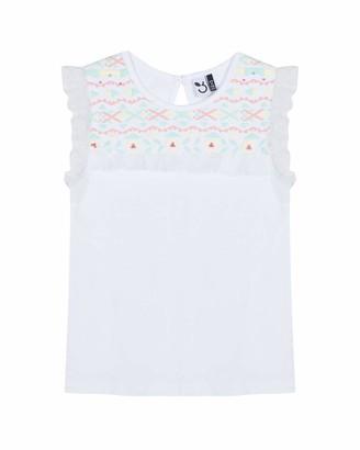 3 Pommes Girl's 3n10144 Sleeveless Tee-Shirt T