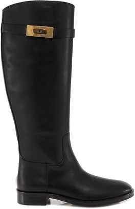Tory Burch T-Hardware Riding Boots