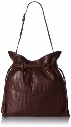 Frye Sacha Small Leather Fringe Hobo