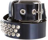 Giuseppe Zanotti Studded Metallic Leather Belt w/ Tags