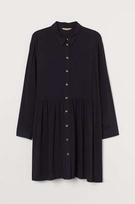 H&M H&M+ Airy Shirt Dress