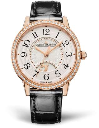 Jaeger-LeCoultre Jaeger Lecoultre Rose Gold and Diamond Rendez-Vous Night & Day Watch 34mm
