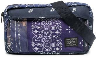 Neighborhood Paisley-Print Belt Bag