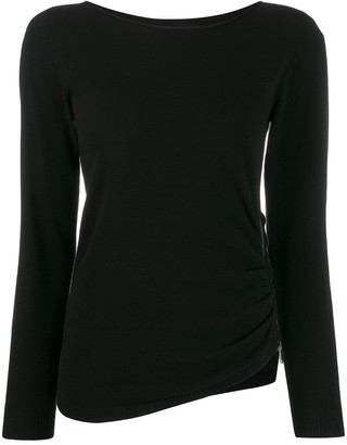 Twin-Set zipped jumper