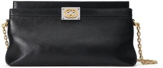 Gucci Leather medium shoulder bag with InterlockingG