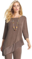 Chico's Mixed Fabric Sierra Top