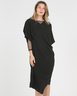 Faye Black Label Tucked Tent Dress