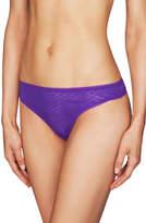 Heidi Klum Intimates NEW A Roman Crush Thong H37-1391 Purple