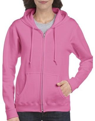 Gildan Women's Athleisure Heavy Blend Full Zip Hooded Sweatshirt