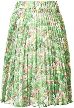 Romance Was Born Lacy Gardens pleated skirt