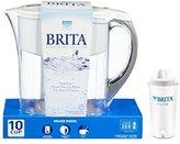 Brita Grand Water Filter Pitcher, White, 10 Cup, BPA Free