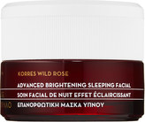 Korres Wild Rose + Vitamin C Advanced Brightening Sleeping Facial