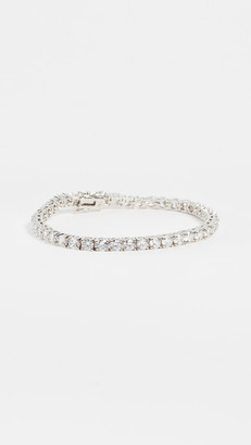 Kenneth Jay Lane Round CZ Tennis Bracelet
