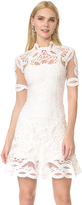 Jonathan Simkhai Truss Appliqué Mini Dress