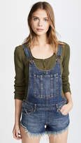 Free People Summer Babe High Low Overalls
