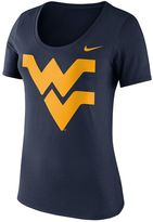 Nike Women's West Virginia Mountaineers Logo Scoopneck Tee