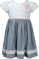 Sweet Heart Rose SWEETHEART ROSE Girls 2-6x Lace Knit Dress