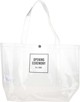 Opening Ceremony Box Logo Shopping Bag