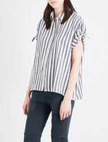 The Great Striped cotton shirt