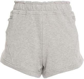 adidas by Stella McCartney Athletics Melange French Cotton-terry Shorts