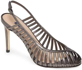 Stuart Weitzman Olive Strappy Slingback Sandal