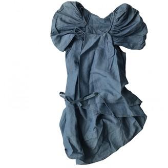 Tsumori Chisato Blue Cotton Dress for Women