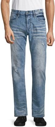 Buffalo David Bitton Six X Basic Faded Straight Jeans