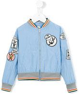 No Added Sugar Word In Edgeways jacket - kids - Polyester - 3 yrs