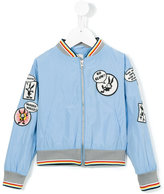 No Added Sugar Word In Edgeways jacket - kids - Polyester - 5 yrs