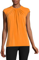 Liz Claiborne Sleeveless Knit Blouse-Talls