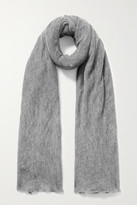 Thumbnail for your product : Isabel Marant Zephyr Cashmere Scarf - Gray