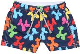 MC2 Saint Barth Balloons Print Nylon Swim Shorts